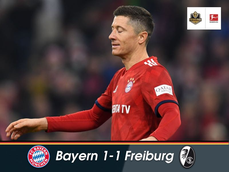 Bayern drop points again as Freiburg hold the champions to a draw