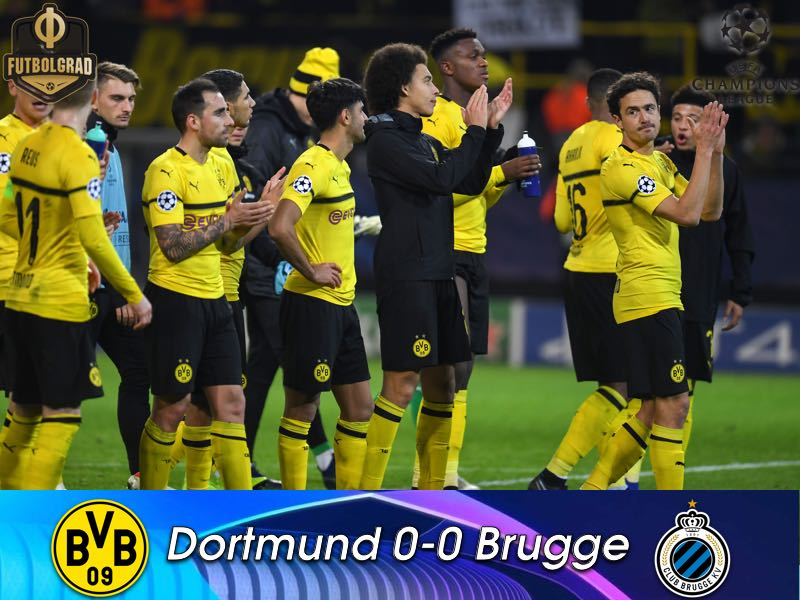 Hard working Brugge stop the BVB train in its tracks