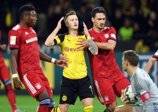 Marco Reus and Matts Hummels - Borussia Dortmund vs Bayern München.