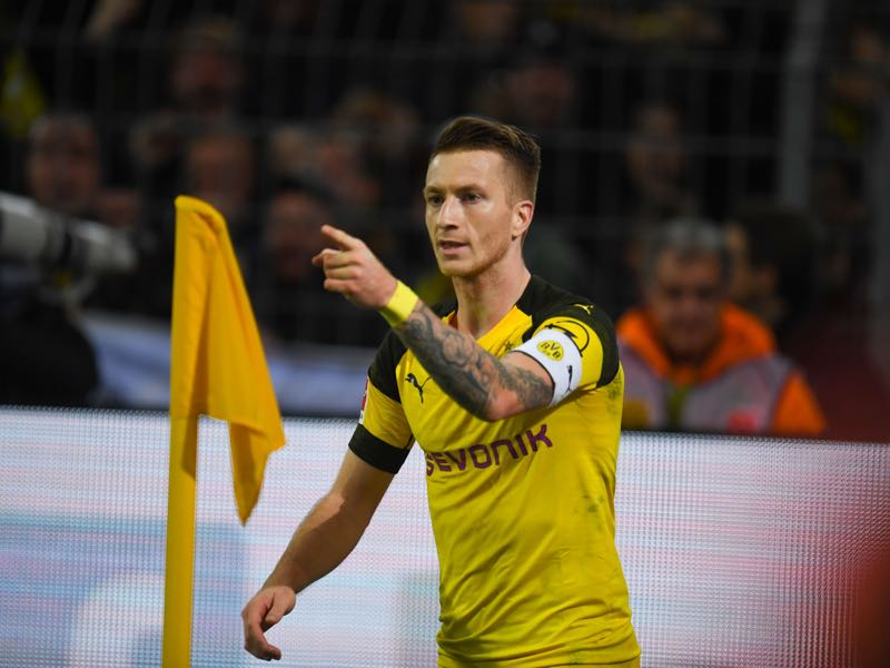 Bayern vs Dortmund - Marco Reus was the difference maker in the first match between the two sides. (PATRIK STOLLARZ/AFP/Getty Images)
