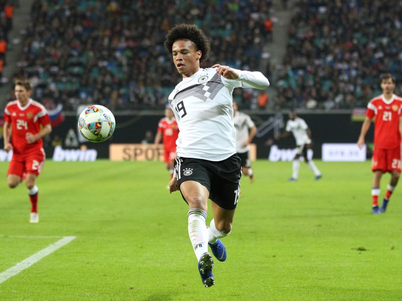 Germany v Russia - Leroy Sané was excellent on Thursday night (Photo by Adam Pretty/Bongarts/Getty Images)