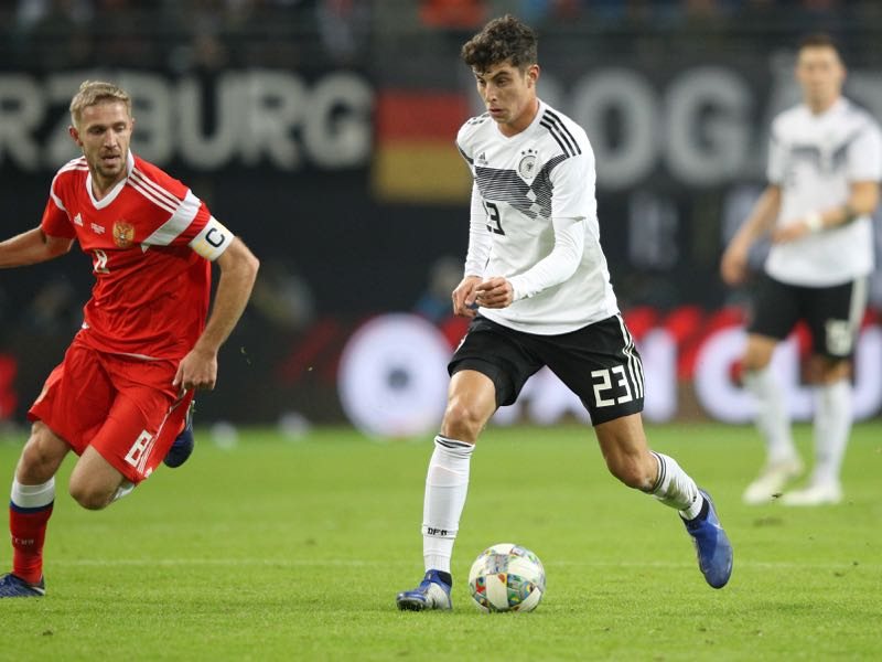 Germany v Russia - Kai Havertz could fill the void left by Mesut Özil (Photo by Adam Pretty/Bongarts/Getty Images)