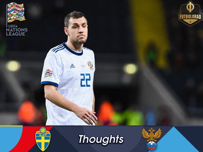 Sweden v Russia – UEFA Nations League – Three Thoughts