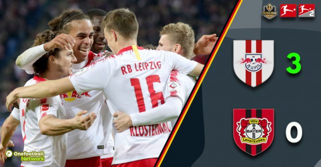 Leipzig heap more misery onto Bayer Leverkusen and jump to third