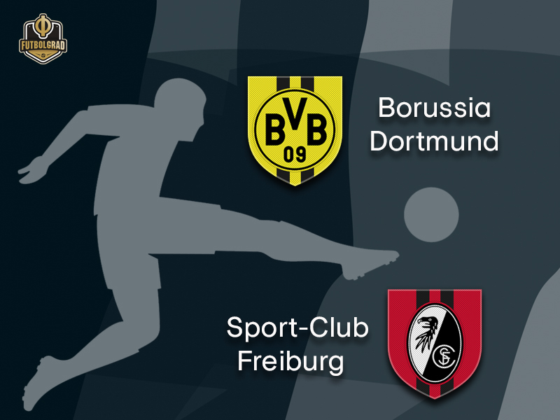 Borussia Dortmund want to break Freiburg's defensive chain