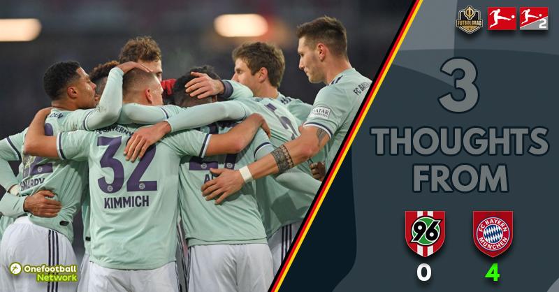 Hannover 96 v Bayern – Thoughts
