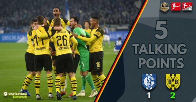'Full throttle', 'high emotions' and 'Sancho – yet again' – Five Talking Points from Schalke vs Borussia Dortmund