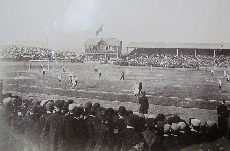 Celtic Park was one of the first modern soccer stadiums.