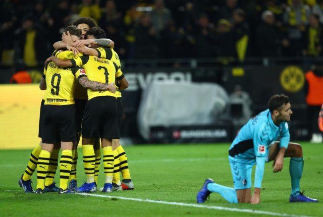 Paco Alcacer - Borussia Dortmund vs Freiburg