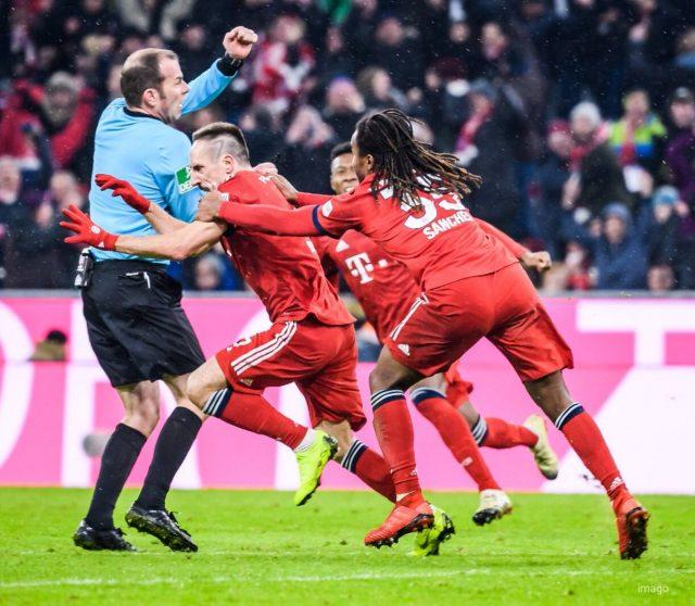Franck Ribery lets lose - Bayern vs RB Leipzig