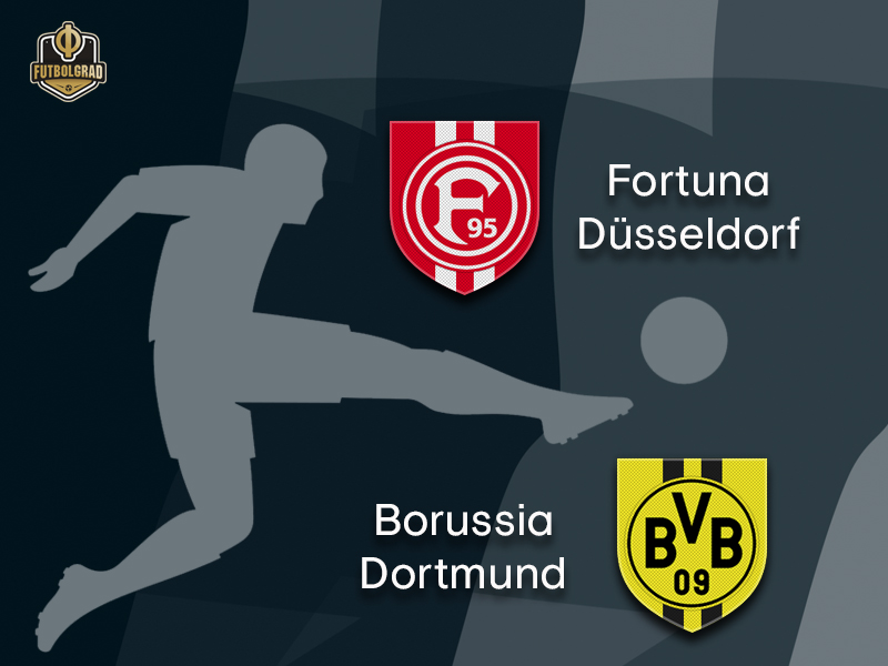 Fortuna Düsseldorf face impossible Borussia Dortmund task