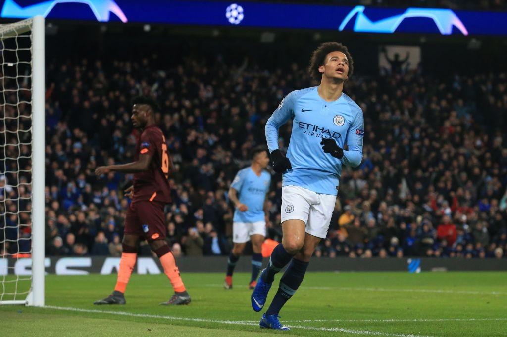 Leyroy Sane - Manchester City vs Hoffenheim