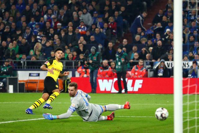 Jadon Sancho - Schalke vs Borussia Dortmund