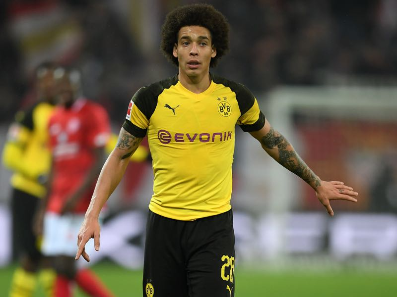 Schalke vs Borussia Dortmund - Axel Witsel will be Borussia Dortmund's key player (Photo by Matthias Hangst/Bongarts/Getty Images)