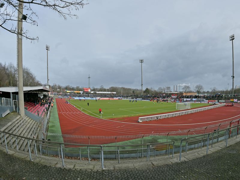 Fortuna Köln vs 1860 Munich will take place at the Südstadion in Cologne (Photo by Thomas Starke/Bongarts/Getty Images)
