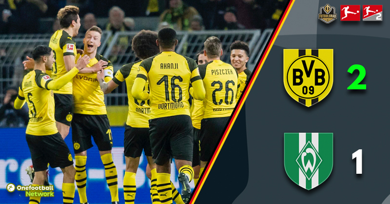 Dortmund take the Herbstmeisterschaft crown as Marco Reus shines