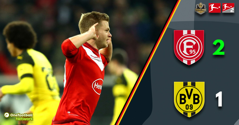 Fortuna Düsseldorf upset the apple-cart to beat Borussia Dortmund