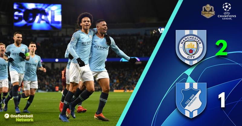 Manchester City prove a step too far for Julian Nagelsmann's Hoffenheim