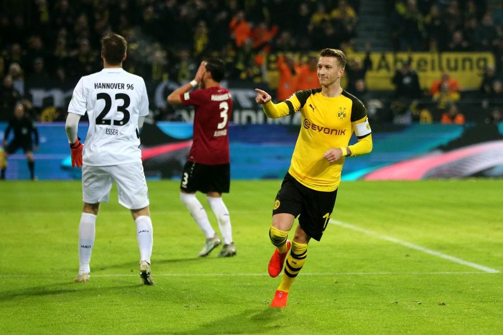 Reus - Dortmund vs Hannover