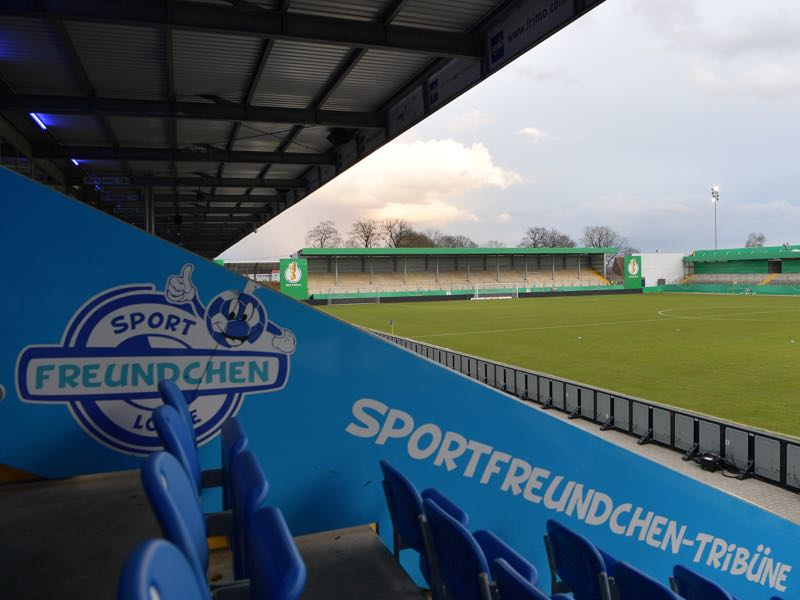 Lotte vs 1860 Munich will take place at the Sportpark am Lotter Kreuz (Photo by Stuart Franklin/Bongarts/Getty Images)
