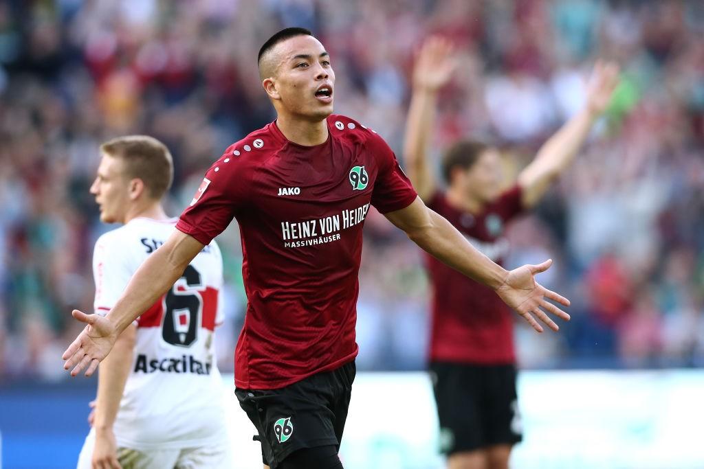 Bobby Wood - Dortmund vs Hannover