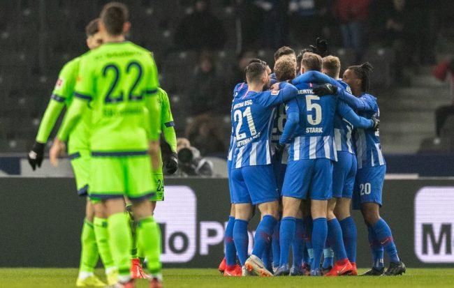 Hertha Vs Schalke