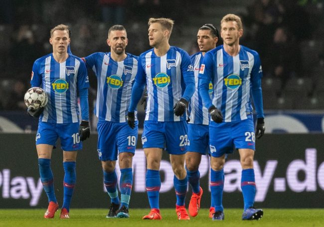 Team performance - Hertha vs Schalke