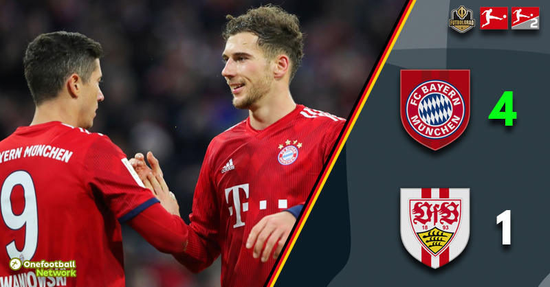 Bayern shake off mid-game complacency to hammer Stuttgart