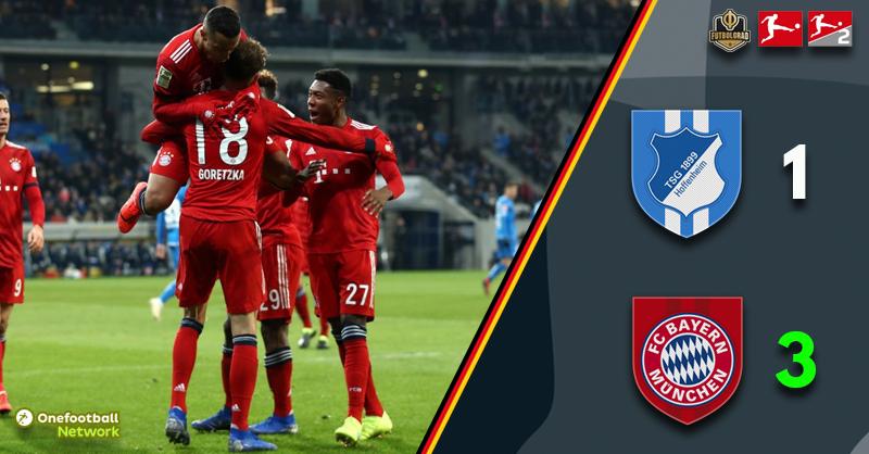 Hoffenheim v Bayern 1-3