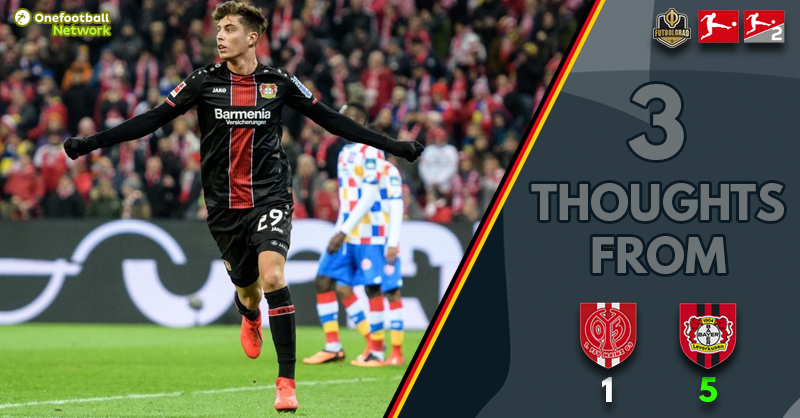 Brandt leads, Havertz tactical concern and excellent Mainz fans – Thoughts from Leverkusen v Mainz