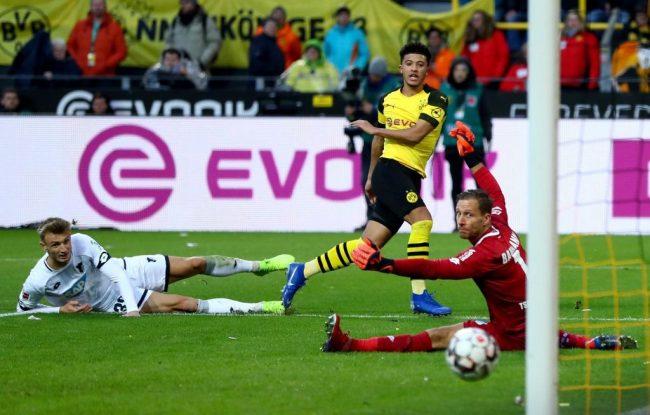 Sancho - Dortmund vs Hoffenheim