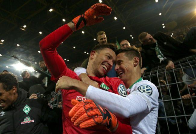 Jiri Pavlenka - Borussia Dortmund vs Werder Bremen