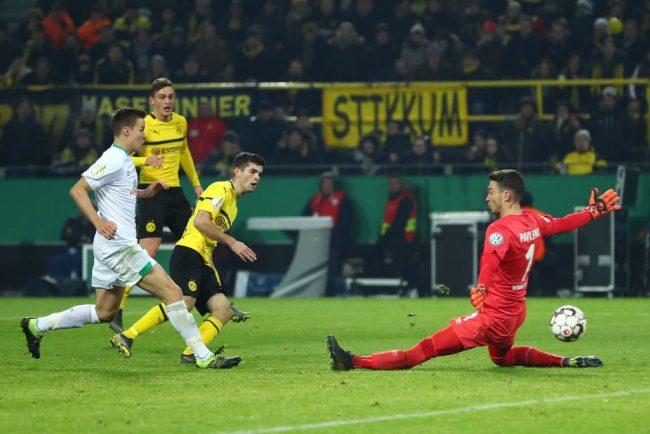 Christian Pulisic - Borussia Dortmund vs Werder Bremen