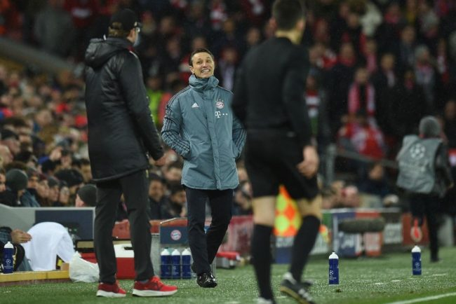 Tempers Frayed - Liverpool vs Bayern München