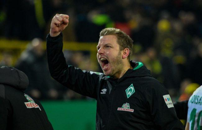 Florian Kohfeldt - Borussia Dortmund vs Werder Bremen