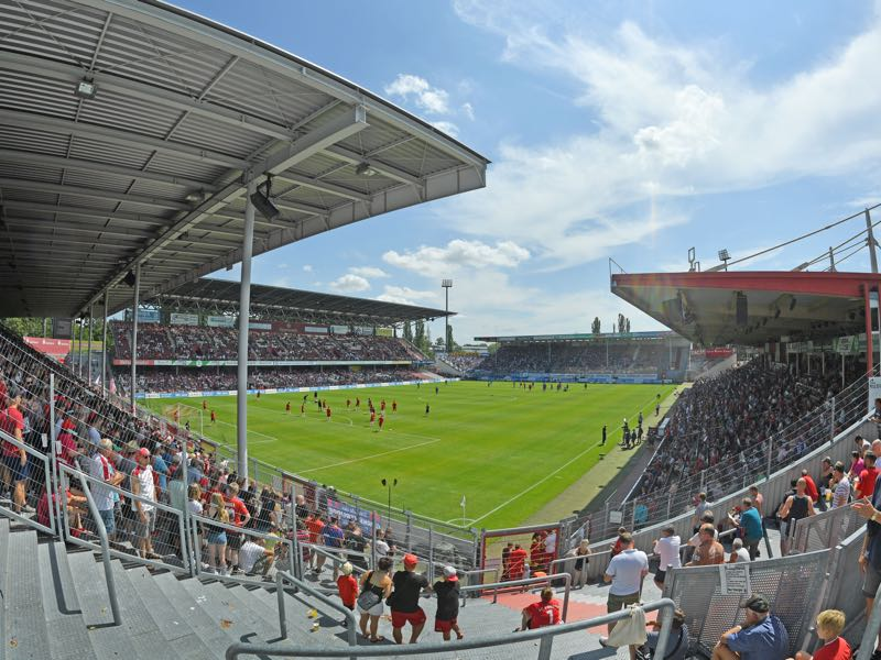 Energie Cottbus vs 1860 Munich will take place at the Stadion der Freundschaft (Photo by Thomas Starke/Bongarts/Getty Images)