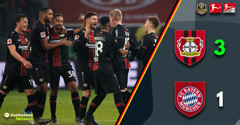 Bayer Leverkusen come from behind to beat giants Bayern