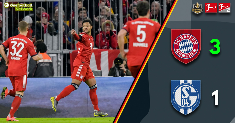 Bayern defeat Schalke and close the gap to five points