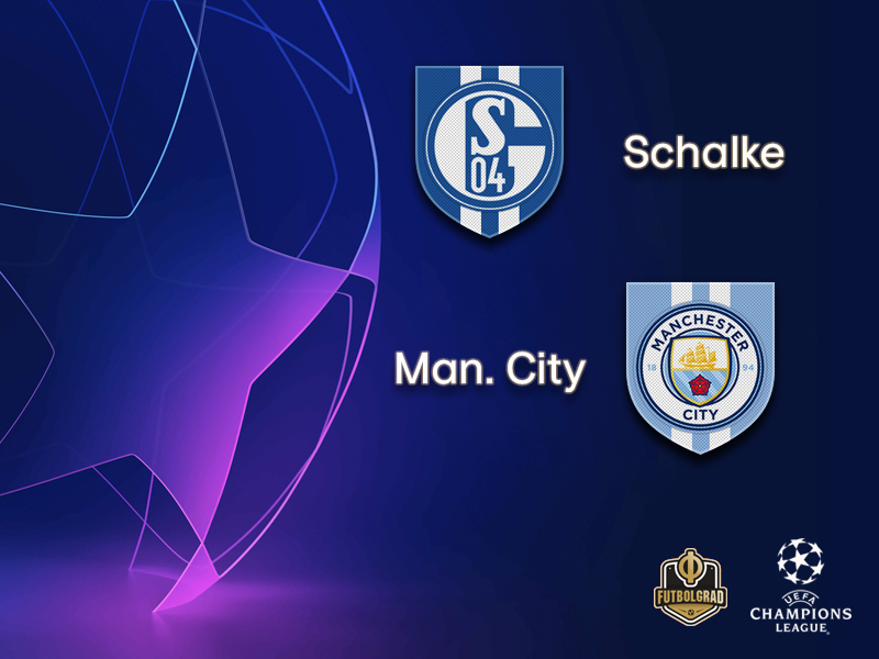 Schalke face mission impossible against Manchester City