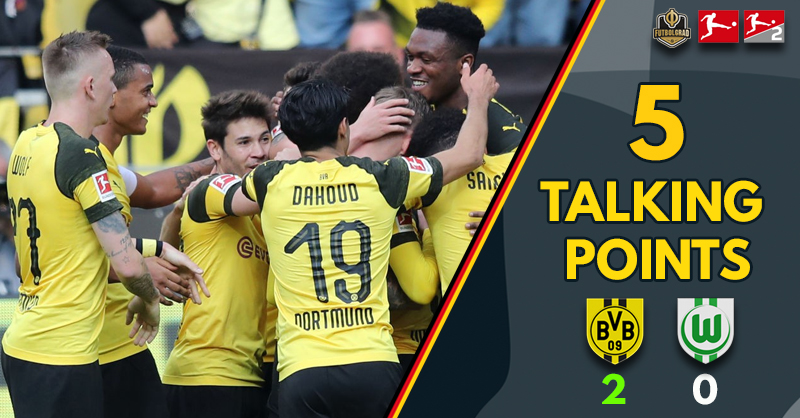 'Dortmund leave it late' and 'goals of destiny?' – Talking Points from Signal Iduna Park as BVB go top