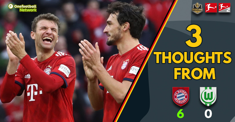 Act of defiance, Liverpool and the title race – Three thoughts from Bayern v Wolfsburg