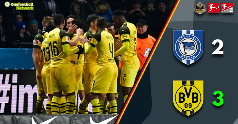 Dortmund leave it late but ultimately triumph in Berlin