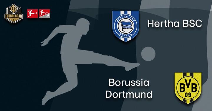 Hertha face depleted Borussia Dortmund