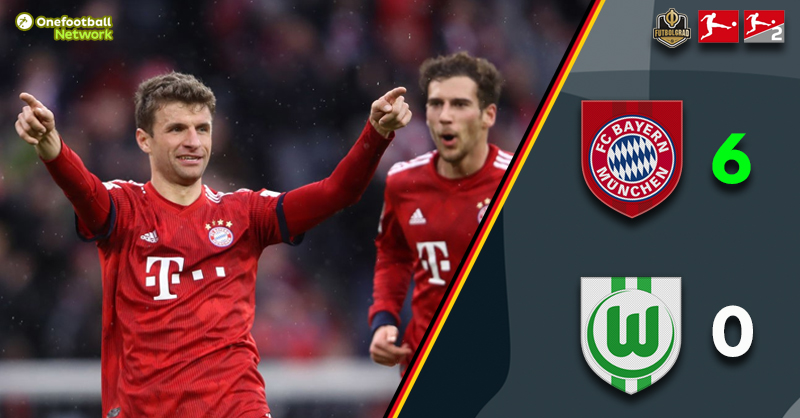Bayern with an act of defiance as they destroy Wolfsburg