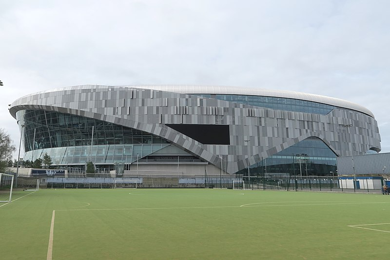 Tottenham vs Ajax will take place at the Tottenham Hotspur Stadium (CC-BY-SA-4.0, Hzh)