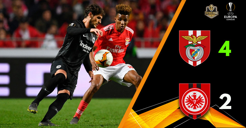 Eintracht Frankfurt Vs Benfica