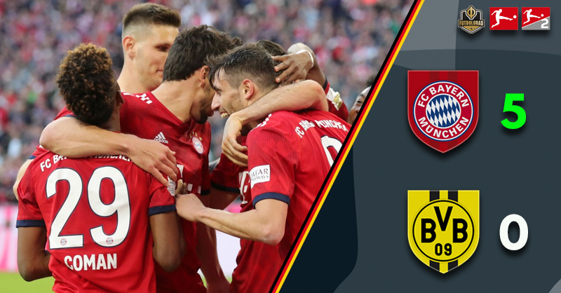Bayern show their title credentials with a masterclass against Dortmund
