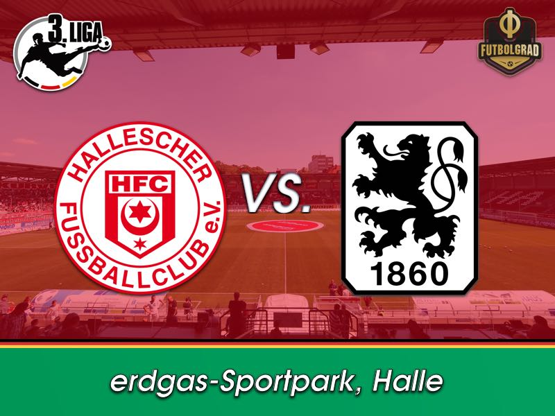Against Halle, 1860 Munich face stern test on the road