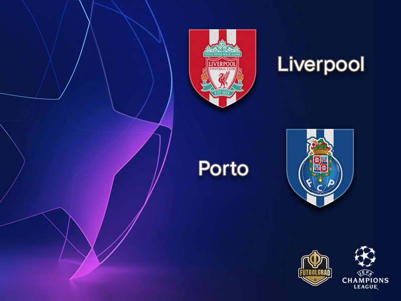 Liverpool once again face Porto in the Champions League