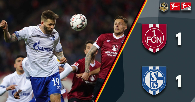 Nürnberg dominant but Schalke win a point in Franconia